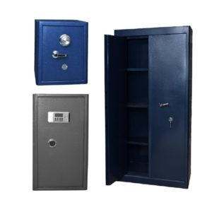 Coffre fort et armoires forte avec combinaison et sans
